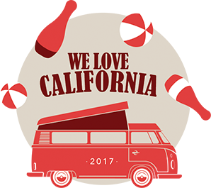 We love California